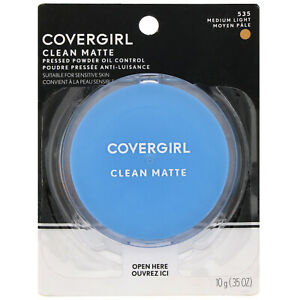 Covergirl Clean Matte Pressed Powder - 535 Medium Light