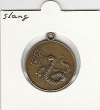 China medaille Dierenriem / Zodiac - Slang / Snake
