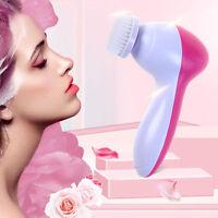 5EN 1 Maquillage électrique multifonction soins du visage Brosse soins Massage