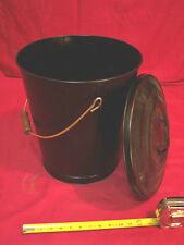 ASH TRASH CAN PAIL (Metal) CORN WOOD PELLET STOVE FURNACE