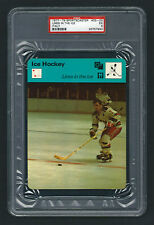 PSA 5 LINES IN THE ICE with ROD GILBERT 1979 Sportscaster Hockey #33-03