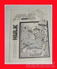 Fanzine MARVEL STORY N 12 speciale HULK 1991