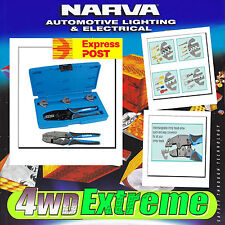NARVA BATTERY TERMINAL CRIMPER, 50AMP ANDERSON PLUG CRIMP LUG CABLE TOOL 56513