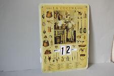 ewiger Kalender LA CUCINA Küchengeräte
