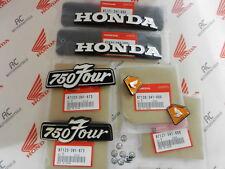 Honda CB 750 four k3-k6 Emblem set sidecover Gas Fuel tank emblem + clips