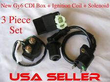 CDI + Ignition Coil + Solenoid Tao Tao 150cc  Bull ATV ATA-150D Sprots SportMax