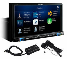"ALPINE iLX-207 7"" In-Dash Digital Media Receiver w/ Apple CarPlay+SiriusXM Tuner"