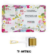 Dermaroller, Gold ZGTS Microneedle, Meso Skin Therapy, 3 Step Mask Set UK .