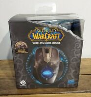 SteelSeries Blizzard World of Warcraft Wireless MMO Gaming Mouse