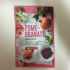 DEARPACKER 1SHEET REAL NATURE NO.008 POMEGRANATE FACE MASK PACK