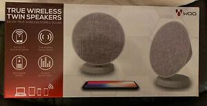 TRUE WIRELESS TWIN Speakers Woo