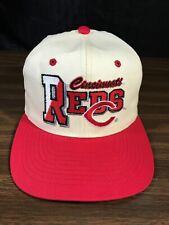 Vintage Cincinnati Big Reds Baseball Hat Cap Snapback New Era KMG Pro Model VGC
