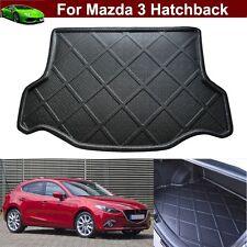 Car Carpet Cargo Mat Trunk Liner Tray Floor Mat For Mazda 3 Hatchback 2014-2017