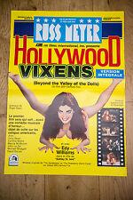 Affiche de cinéma : HOLLYWWOD VIXENS DE RUSS MEYER