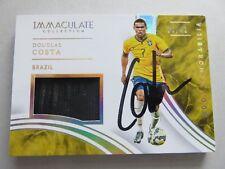 Costa Douglas signiert auto - Panini Trikot Karte Jersey Card Immaculate Brazil