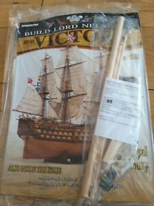 DEAGOSTINI BUILD LORD NELSON'S HMS VICTORY MODEL SHIP ISSUE 88 UNOPENED