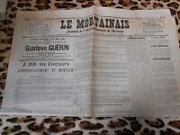 LE MORTAINAIS, journal de l'arrondissement de Mortain - N° 16, 18/04/1936