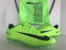 NIKE MERCURIAL VAPOR XI FG ACC ELECTRIC GREEN SZ.8 (831958- 303)