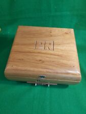 More details for large tabacalera wooden cigar box case vintage humidor philippines pr