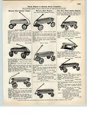1942 PAPER AD Mercury Steel Coaster Wagon American Beauty Radio Special Rex