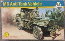 Italeri Model 1/72 M6 Anti Tank Vehicle Armor Plastic Model Kit  # 7025