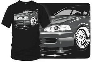 Honda Civic t shirt - Wicked Metal - $19.99