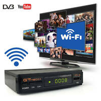 GTMEDIA V7S HD FTA Digital Satellite TV Receiver Full 1080P DVB-S2 Top Box+WIFI