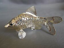 CHRISTOFLE MINIATURE LUMIERE D'ARGENT POISSON BARBUE SILVERPLATED FISH BRILL 80