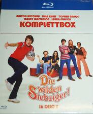 Die Wilden Siebziger,Staffel 1 2 3 4 5 6 7 8, 16 Blu Ray Cigarette Box,NEU & OVP