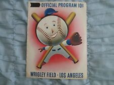 1950's MLB Game Played at Wrigley Field Los Angeles Cardinals vs Cubs