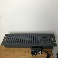 Transcension SDC-16  DMX Controller 16 Channel Show Control DJ Fully Working