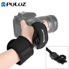 PULUZ Neoprene Hand Grip Wrist Strap 1/4 inch Screw Plastic Plate For SLR DSLR