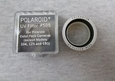 Vintage Polaroid UV Filter 585 for Color Pack Cameras complete w/ Case