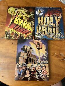 Lot Of 3 Monty Python Blu Ray LE UK Import REGION FREE Steelbook