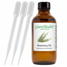 4 fl oz Rosemary Essential Oil (100% Pure & Natural) with 3 Free Droppers