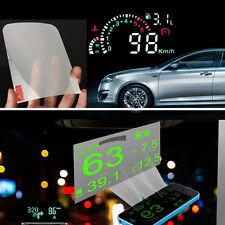 HUD Driving Car Head Up Display System Speedometer OBD II Reflective film Sticke