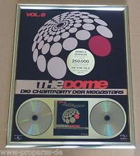 """The Dome Gold Award """"The Dome 8"""" Falco, Xavier Naidoo, Toten Hosen, Depeche Mode"""