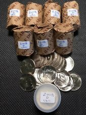 2018 D Kennedy Half Dollar Roll Brilliant Uncirculated from Mint Bags (1 Roll)