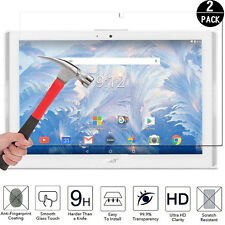 """2PACK Film Tab Acer Iconia One 10 B3-A40 10.1"""" Tempered Glass Screen Protector"""