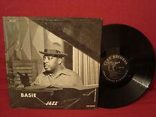 COUNT BASIE BASIE JAZZ BLACK DEEP GROOVE CLEF LABEL VG++