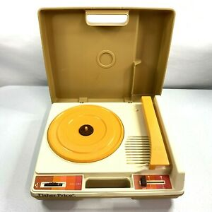 Vintage 1978 Fisher Price Record Player Turntable 825