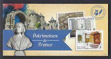 FRANCE 2013 Carnet Adhésif BC 865 PATRIMOINE -NEUF** NON plié LUXE MNH