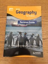 GCSE Geography for WJEC: A Revision Guide by Dirk Sykes, Stacey Burton-McCabe...