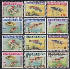 Guinea Guinée 1964 ** Mi.214/25 A Fische Fish Poissons [sq4636]