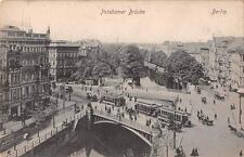 "antique german postcard Berlin"" Potsdamer Brücke  ""3342"""