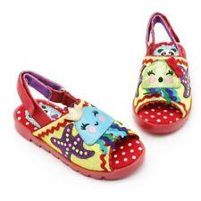 Irregular Choice Kids Cherry Navy Polka Dot Closed Toe Sandal Girls Shoes
