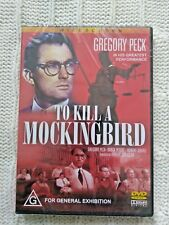 TO KILL A MOCKINGBIRD – DVD, REGION-ALL, NEW, FREE POST IN ASUTRALIA