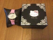 Hello Kitty Ladies Girls Watch Brand New pink strap present collectable gift box