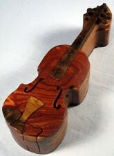 Wooden Puzzle Box- Violin-FREE SHIPPING