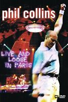 """PHIL COLLINS """"IN PARIS LIVE AND LOOSE"""" DVD NEU"""